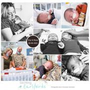 Kay en Ryan prematuur geboren in Spanje