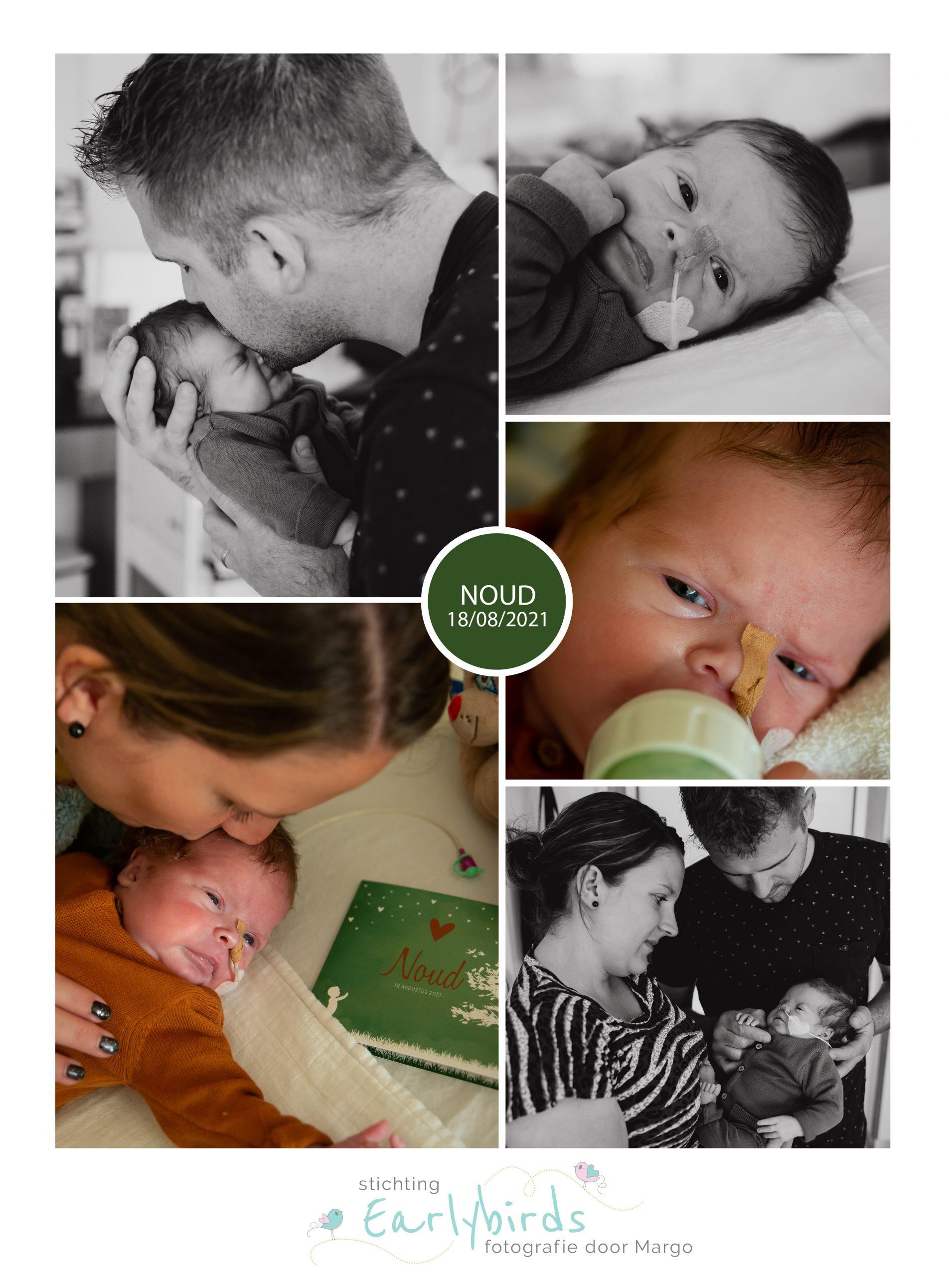 Noud prematuur geboren met 35 weken