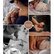 Ava Julie prematuur geboren